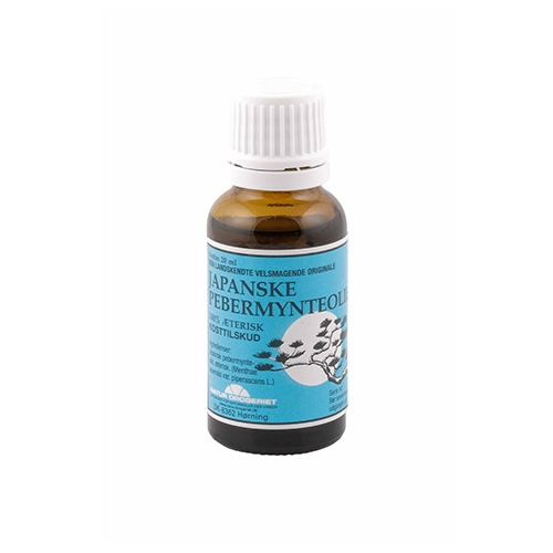 Image of Natur Drogeriet Japansk Pebermynteolie (20 ml)