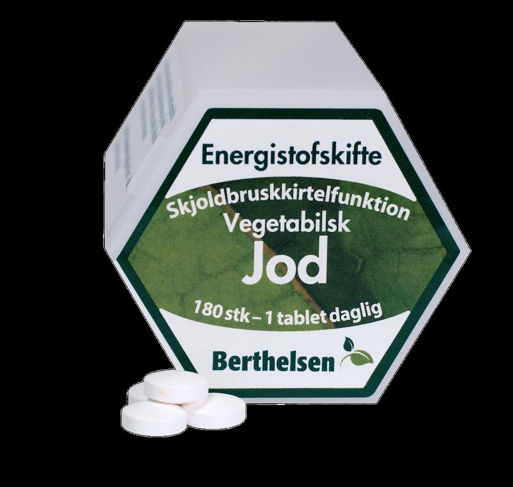 Image of Berthelsen Jod 225 mcg (180 tabletter)