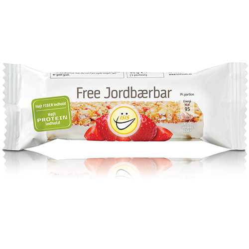 Image of EASIS Free Jordbærbar (20 stk)
