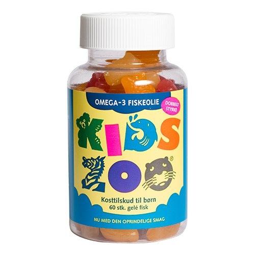 Image of Kids Zoo Omega 3 Fiskeolie (60 tab)