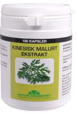 Image of Natur Drogeriet Kinesisk Malurt Ekstrakt - Høj koncentration (180 kap.)