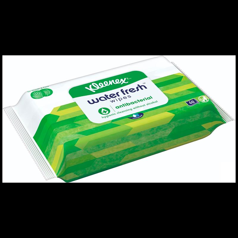 Kleenex Hygienic Cleansing Wipes (40 stk)