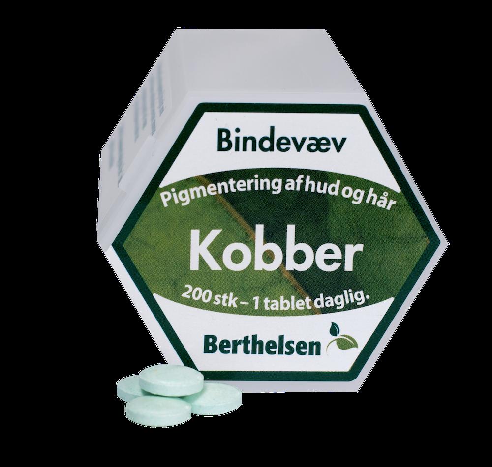 Image of Berthelsen Kobber 2 mg (200 tabletter)