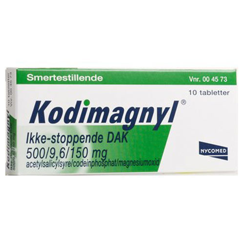 Tilbud på Kodimagnyl Tabletter (10 stk)
