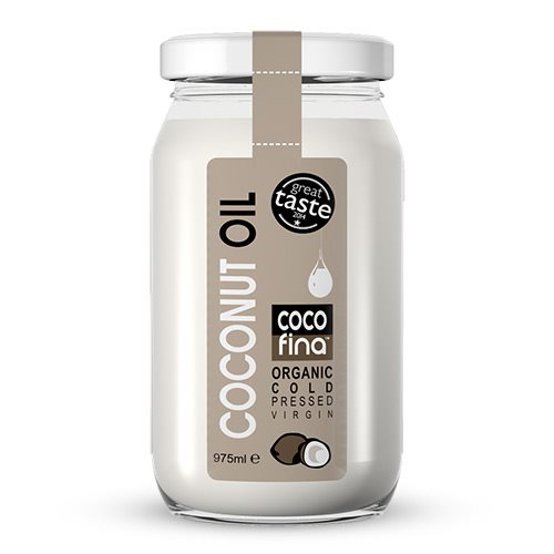 Image of Cocofina Koldpresset Jomfru Kokosolie (975 ml)