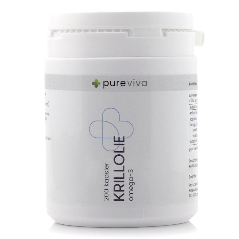 Image of Pureviva Krillolie 500 mg (200 kap)