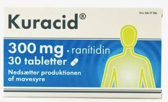 Image of Kuracid Tabletter 300 mg (30 stk)
