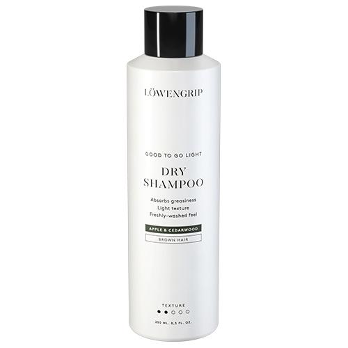 Löwengrip Good To Go Light Dry Shampoo For Brown Hair Apple & Cederwood (250 ml) thumbnail