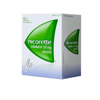 Image of Nicorette Inhalator 10MG (42 stk)