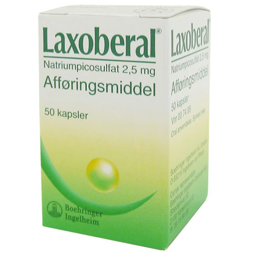 Image of Laxoberal Kapsler 2,5 mg (50 stk)