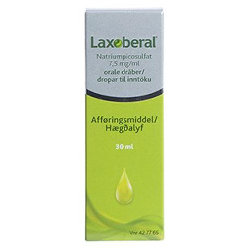 Image of Laxoberal Oral Dråber 7,5 mg (30 ml)