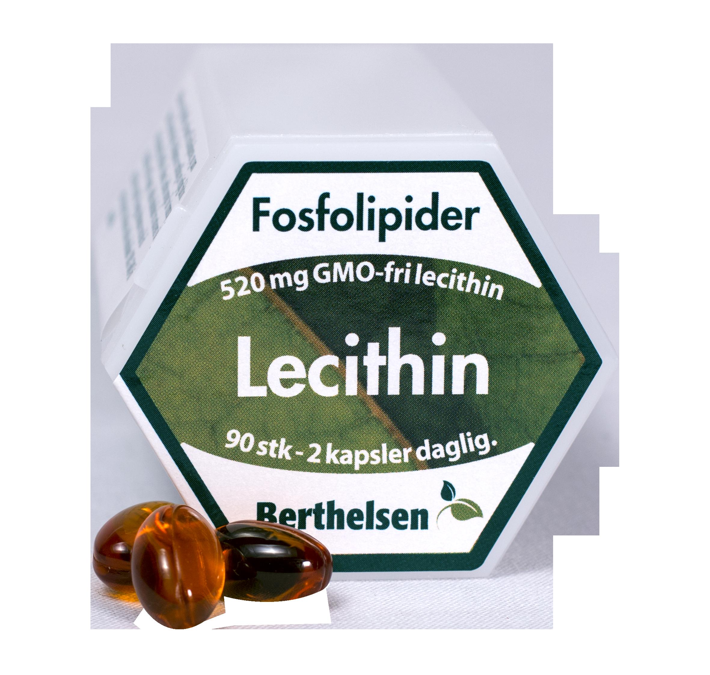 Image of Berthelsen Lecithin (90 kapsler)