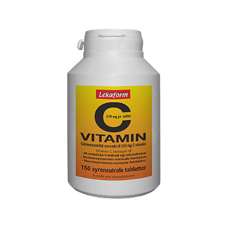 Image of Lekaform C-vitamin 610 mg (150 tabletter)
