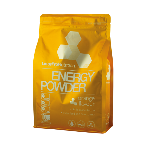 Image of LinusPro Energy Powder appelsinsmag (1000 g)