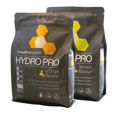 Image of LinusPro HydroPro Proteinpulver - Flere smagsvarianter (1 kg)