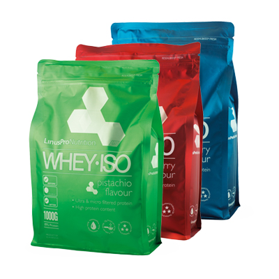 Image of LinusPro WHEY ISO - Flere smagsvarianter (1 kg)