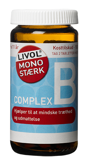 Image of Livol Mono Stærk B (100 tabletter)
