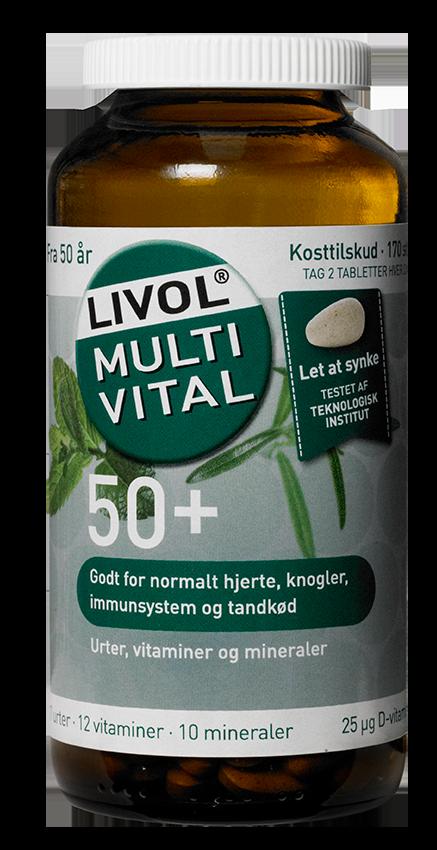 Billede af Livol Multi Vital 50+ (150 stk)