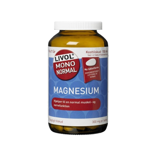 Image of Livol Mono Normal Magnesium (80 tabletter)