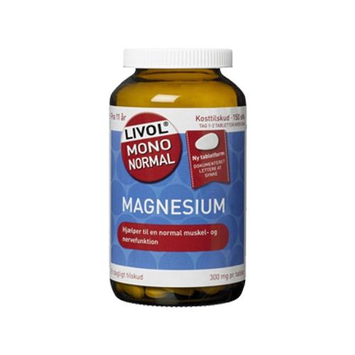 Livol magnesium fra Helsebixen