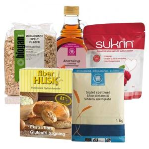 Image of Grundpakke til bagning (Low FODMAP)