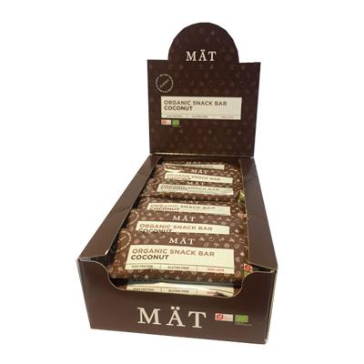Image of Mät Organic Snack Bar - Coconut (24 stk.)