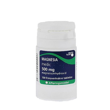 Image of Magnesia 500mg (100 stk)