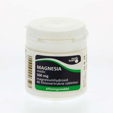 Image of Magnesia 500mg (40 stk.)