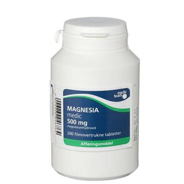 Image of Magnesia 500mg (200 stk.)
