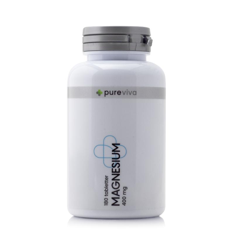 Image of Pureviva Magnesium Citrat 400 mg (180 tab)