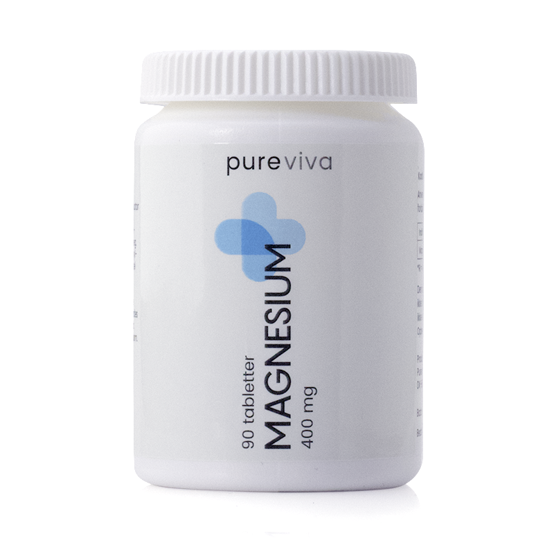 Pureviva magnesium fra Helsebixen