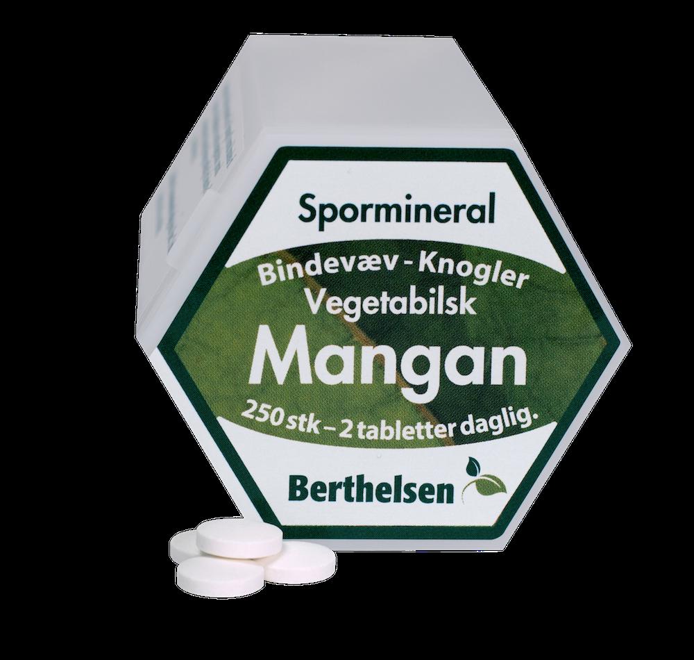 Image of Berthelsen Mangan 3,75 mg (250 tabletter)
