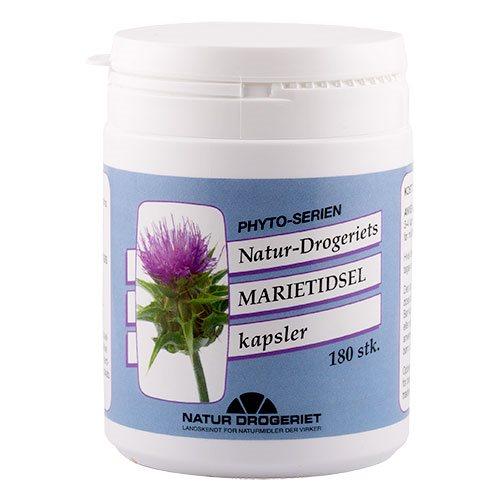 Image of Natur Drogeriet Marietidsel (180 kapsler)