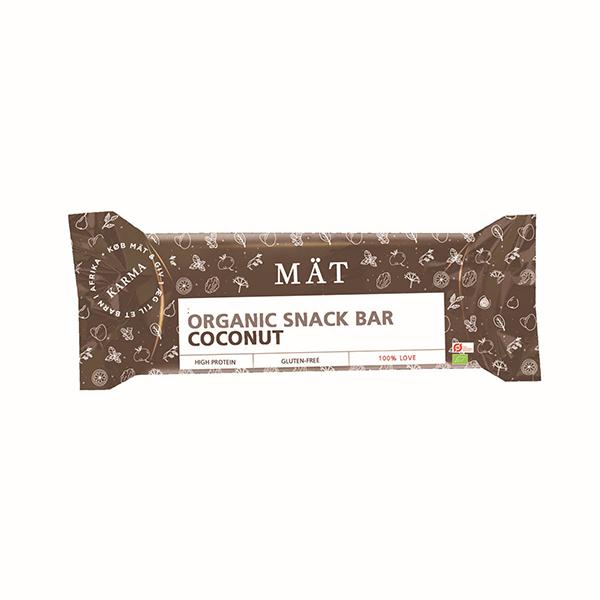 Image of Mät Organic Snack Bar - Coconut (40g)