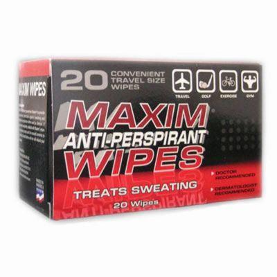 Image of Maxim Antiperspirant Wipes