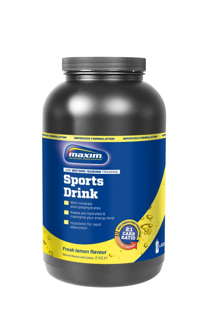 Image of Maxim Energy Drink Lemon/Lime (2 kg)