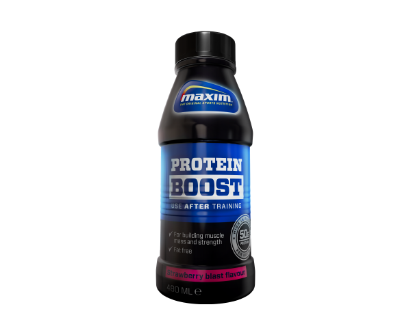 Image of Maxim Protein Boost Strawberry (480 ml)