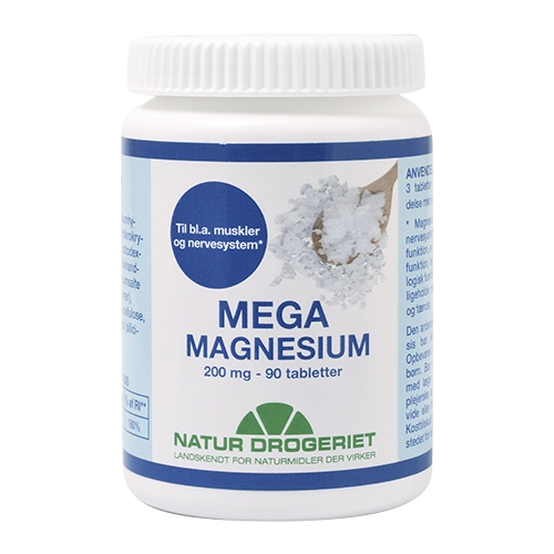 Natur-Drogeriet magnesium fra Helsebixen