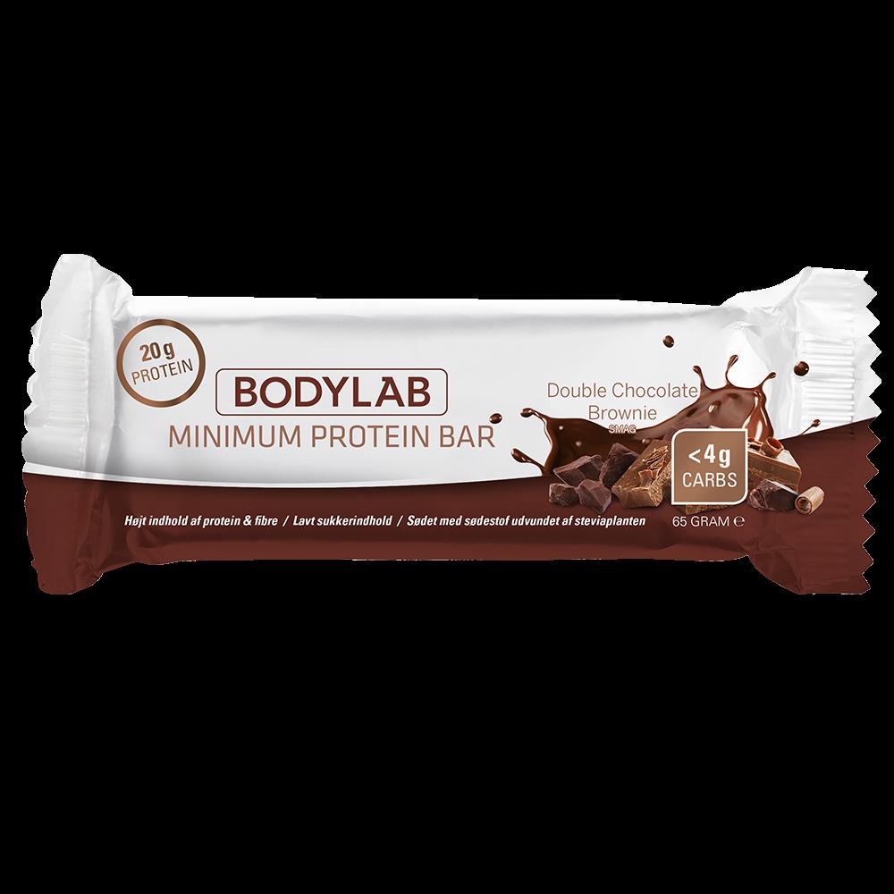 Image of Bodylab Minimum Proteinbar Double Chocolate Brownie (12 x 65 g)