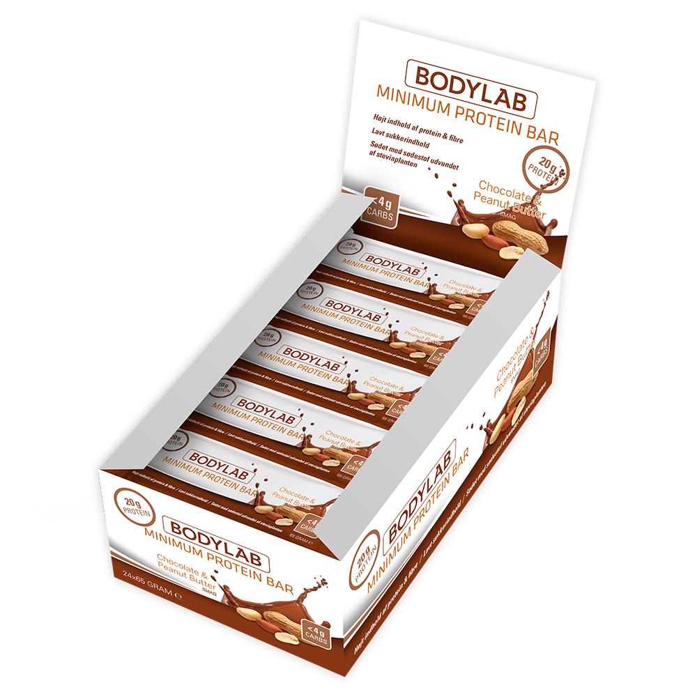 Image of Bodylab Minimum Proteinbar Chocolate Peanutbutter (12x 65 g)