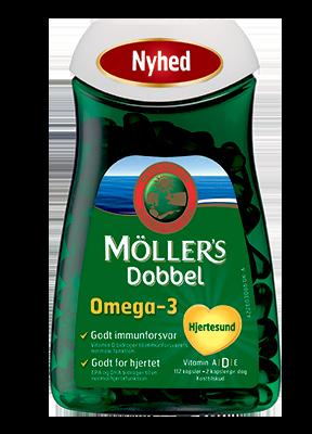 Image of Møllers Dobbelt (112 tabletter)
