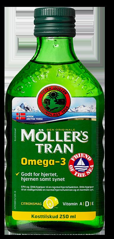 Image of Møllers Tran med Citrussmag (250 ml)