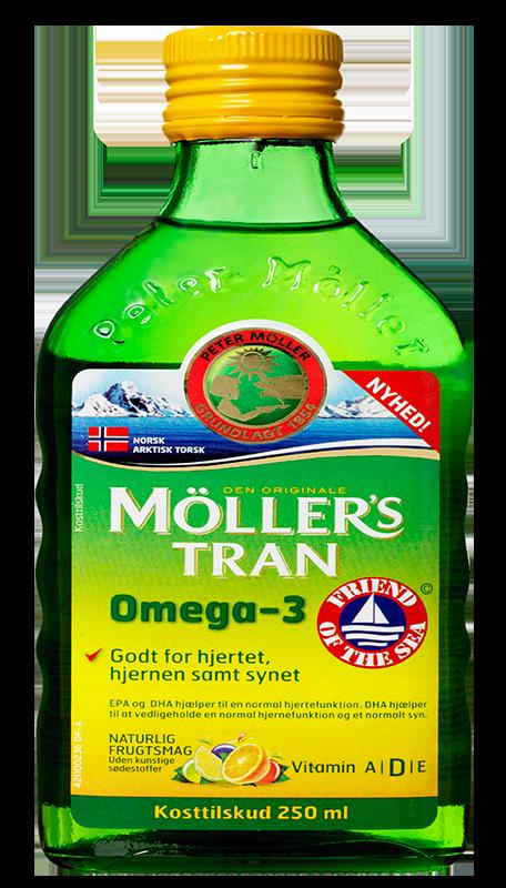 Image of Møllers Tran m. frugtsmag (250 ml)