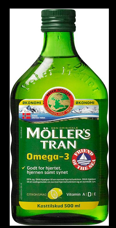 Image of Møllers Tran med Citrussmag (500 ml)