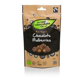 Image of Organic Raw Chocolate Mulberries Ø (125 g)