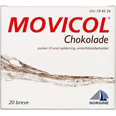 Image of Movicol Pulver Oral Opløsning - Chokolade (20 breve)