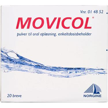 Image of Movicol Pulver Oral Opløsning (20 breve)