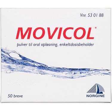 Tilbud på Movicol Pulver Oral Opløsning (50 breve)