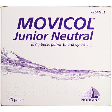 Image of Movicol Junior Pulver Oral Opløsning (30 breve)