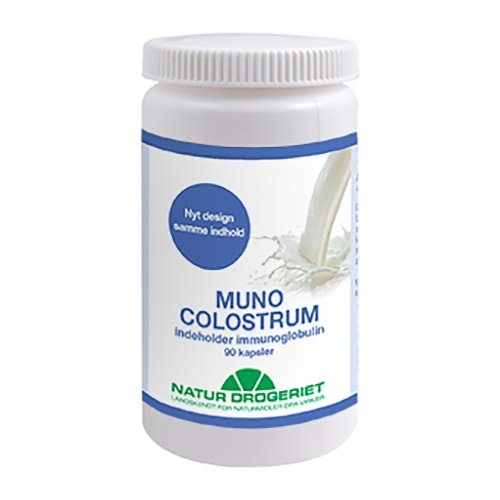 Muno Colostrum 500 mg (90 kapsler)